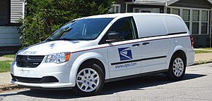 Grumman LLV - USPS-operated minivan serving in the LLV's role