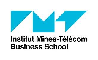 Telecom Business School - Logo of the school (2018)