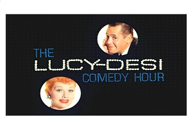 "Color title card to ""The LUCY-DESI Comedy Hour"""