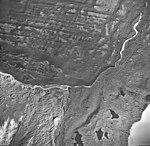 La Perouse Glacier, Dagelet Lobe terminus covered with rocks, September 16, 1966 (GLACIERS 5553).jpg