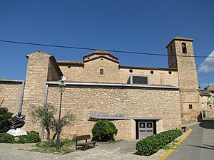 La Pobla de Cérvoles - Oil museum and church