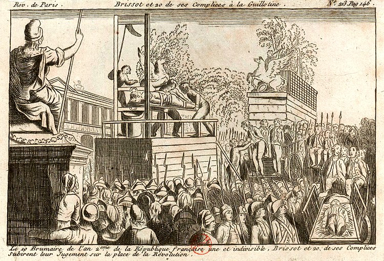 Execution of the Girondins