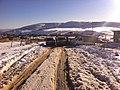 La route vers le sommet enneigé MEGRES - panoramio.jpg