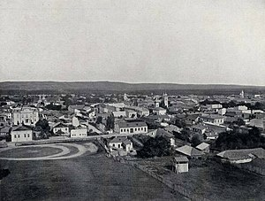 Pitești - Photo of Pitești ca. 1901