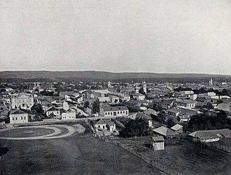 Pitești - Photo of Pitești ca. 1901