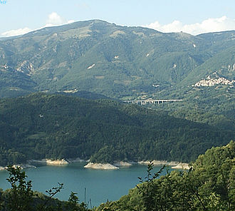 Petrella Salto - The Lake Salto and Petrella.