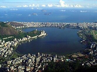 Lagoa, Rio de Janeiro - Lagoa Rodrigo de Freitas, Rio de Janeiro, Brazil