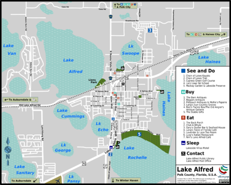 The Good Ride >> Lake Alfred – Travel guide at Wikivoyage