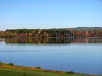 Anthony Township, Montour County, Pennsylvania - Image: Lake Chillisquaque