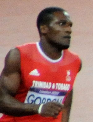 Lalonde Gordon - Gordon in the 2012 Olympic final
