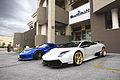 Lamborghini Murcielago LP670 Super Veloce and Gemballa Mirage GT (16104432887).jpg