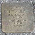 Landshut Stolperstein Wittmann, Betty.jpg