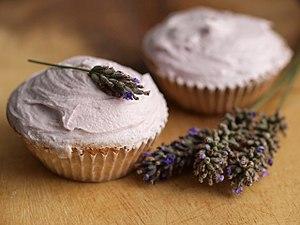 Lavandula - Lavender infused cupcakes