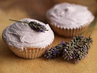 Lavandula - Lavender-flavored cupcakes