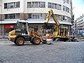 Lazarská, rekonstrukce tramvajové trati (03).jpg