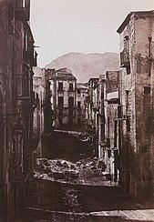quartier de Castres à Palerme
