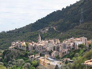 Le Broc, Alpes-Maritimes - Image: Le Broc 1
