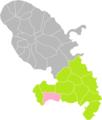 Le Diamant (Martinique) dans son Arrondissement.png