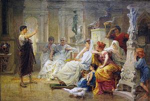 Diogène Maillart - Image: Le jeune néophyte chrétien