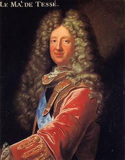 Portrait du maréchal de Tessé. Copie d'après Hyacinthe Rigaud (1700). Le Mans, Musée de Tessé.