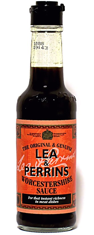 Worcestershire sauce - Image: Lea & Perrins worcestershire sauce 150ml