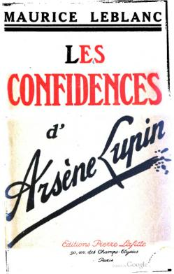 Image illustrative de l'article Les Confidences d'Arsène Lupin