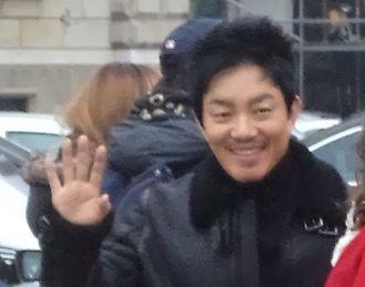 Lee Beom-soo - Lee Beom-soo at the Iris II: New Generation shooting in Hungary, 2012 November