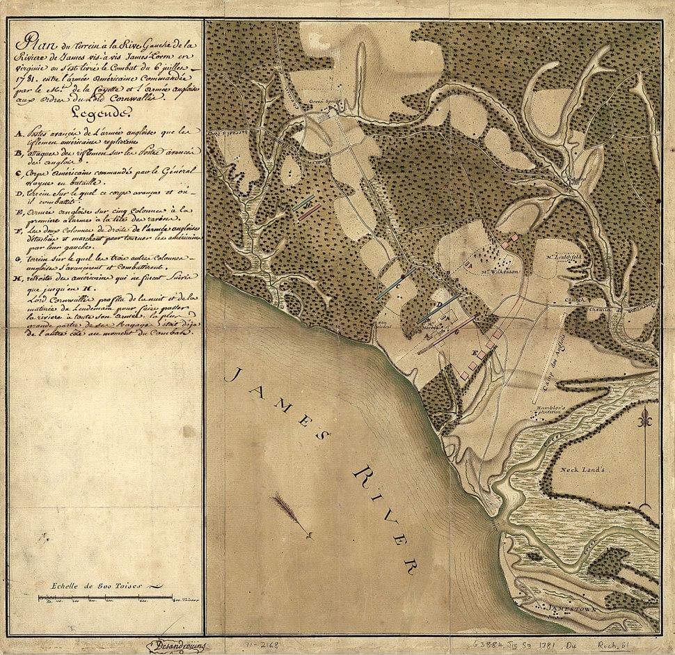 Left-Bank-James-River-Rochambeau-map