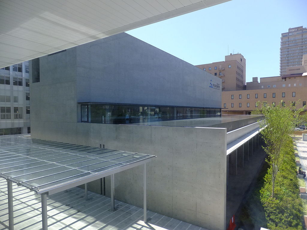 Left side of Akita Museum of Art