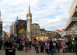 Clock Tower, Central Leicester
