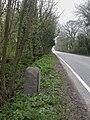 Leigh upon Mendip, milestone - geograph.org.uk - 1249500.jpg