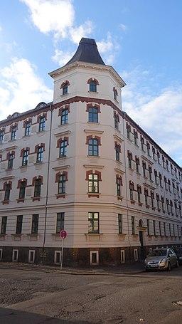 Hahnemannstraße in Leipzig