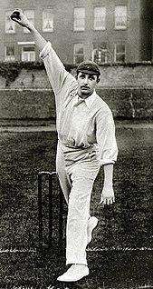 Len Braund Cricket player of England.