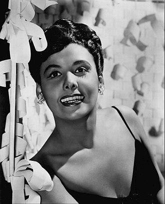 Lena Horne - Publicity photo of Horne, 1955