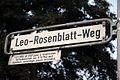 Leo-Rosenblatt-Weg, Hannover-Ahlem, geb. 6.5.1888, ab 1929 Leiter d. Israelitischen Gartenbauschule, am 15.10.1944 nach Auschwitz verschleppt, danach verschollen.jpg