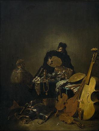 Leonaert Bramer - Allegory of Vanity (Vanitas)