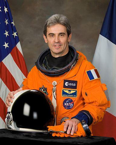 ESA astronaut Leopold Eyharts, STS 122 mission specialist, NASA photo (24 April 2007) Source: Wikipedia (spaceflight.nasa.gov killed 25 Feb 2021) 384px-Leopold_eyharts_v2.jpg