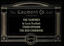 Ficheiro:Les Vampires - Le Cryptogramme rouge (1915).webm