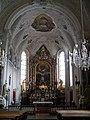 Lesachtal Wallfahrtskirche Maria Luggau Innen Chor 1.JPG