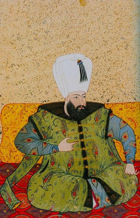 Levni. Ottoman Ahmed I. 1703. Topkapi Saray museum.