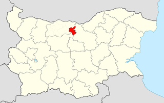 Levski Municipality Within Bulgaria.png