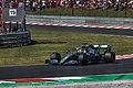 Lewis Hamilton during Hungarian Formula 1 GP.jpg