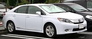 Lexus HS Hybrid luxury sedan