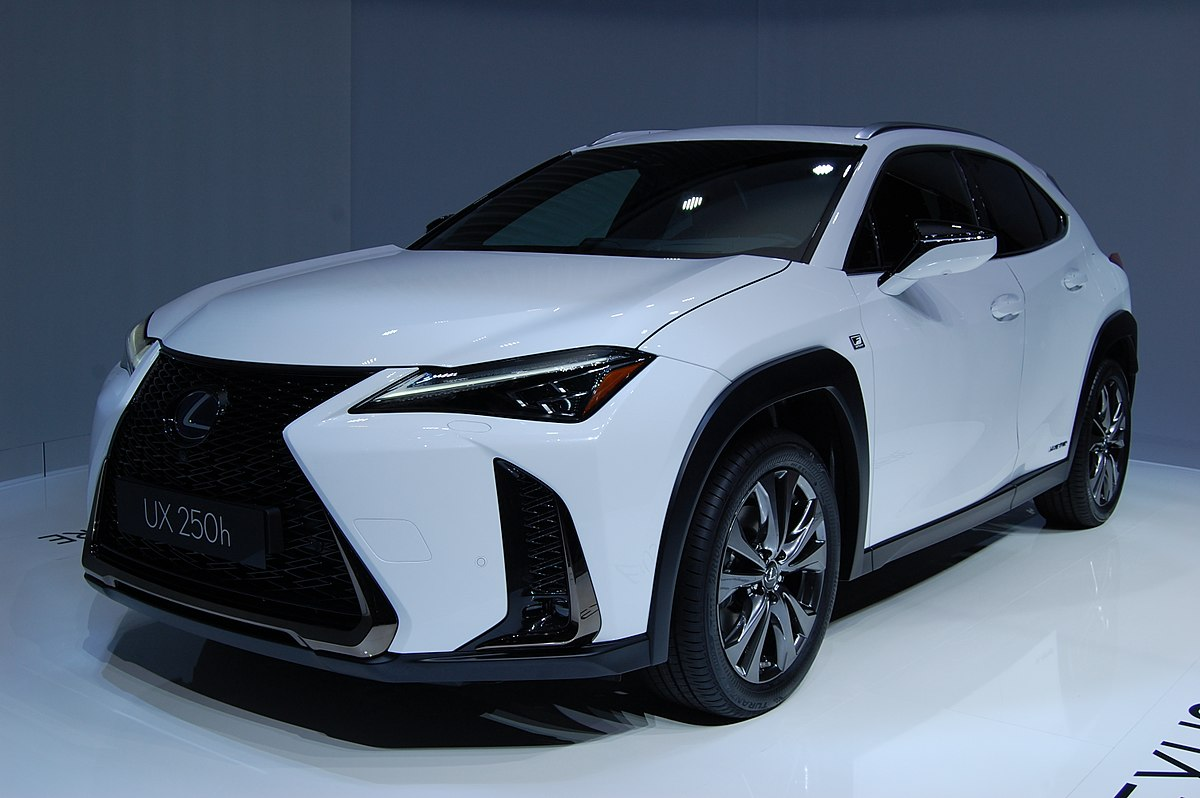 What Is A Crossover Suv >> Lexus UX – Wikipedia, wolna encyklopedia