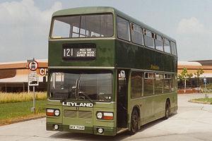 Leyland Titan (B15) - John Fishwick & Sons pre-production Titan in the 1980s