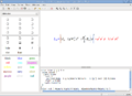 LibreOffice 5.0.3 Math w. equation in Knoppix 7.2.png