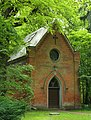Lieberose Schlosspark Kapellenberg Kapelle von der Schulenburg 02.JPG