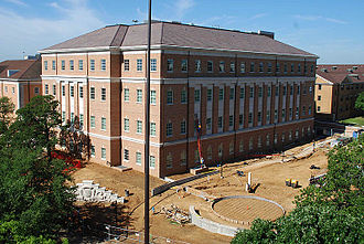University of North Texas - Life Sciences Complex B, prior to opening in 2011