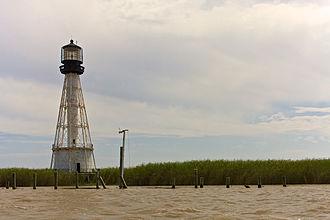 Port Eads, Louisiana - Lighthouse at Port Eads, April 2008