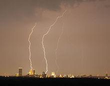 Il clima dell'Oklahoma è famoso per la formazione dei temporali.